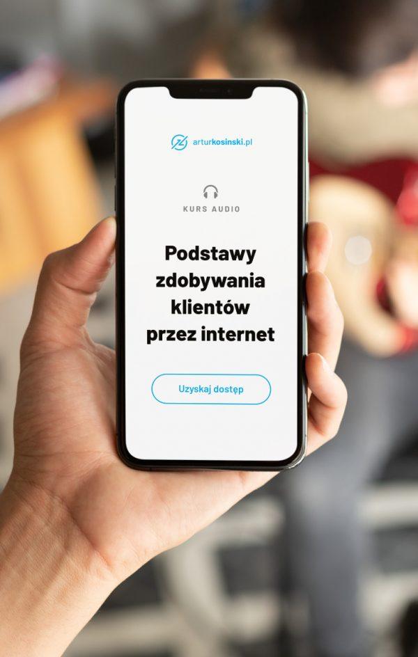 Podstawy zdobywania klientów przez internet Kurs audio